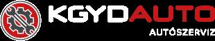 KGYD Autószerviz Logo